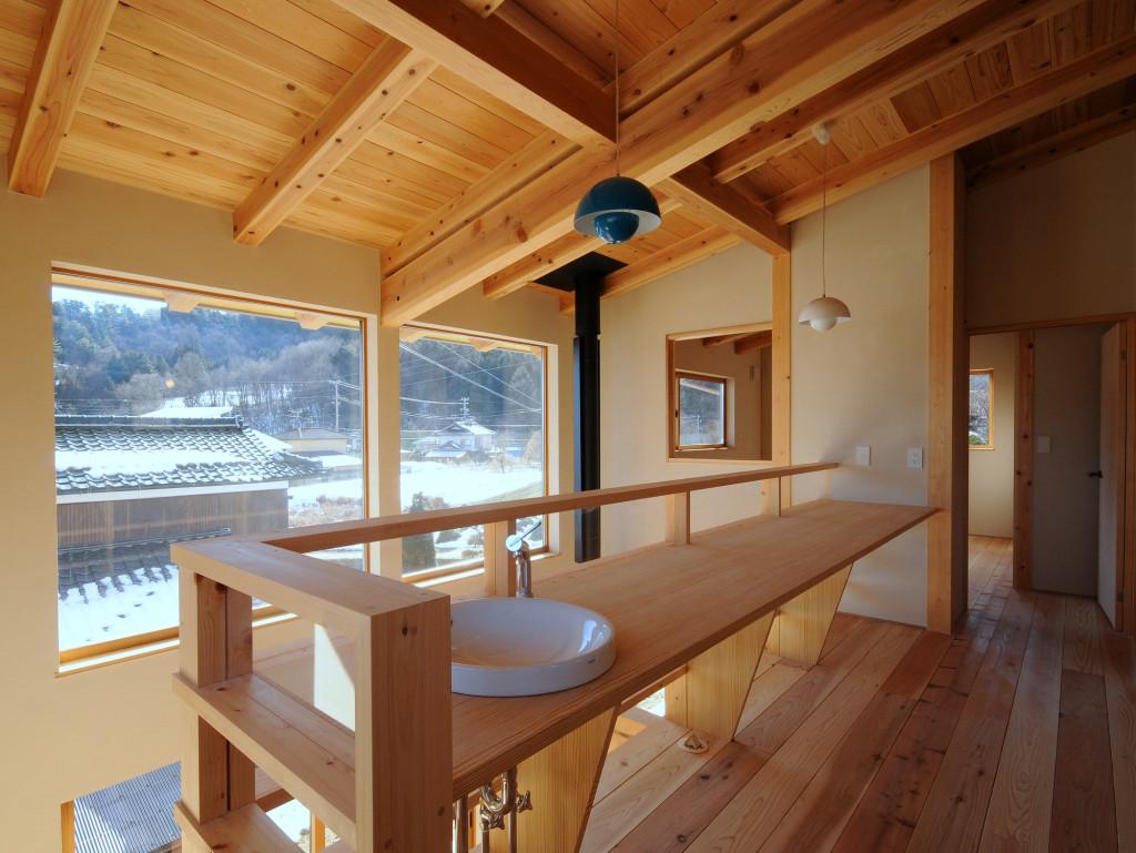 自分の山の木で建てる家
